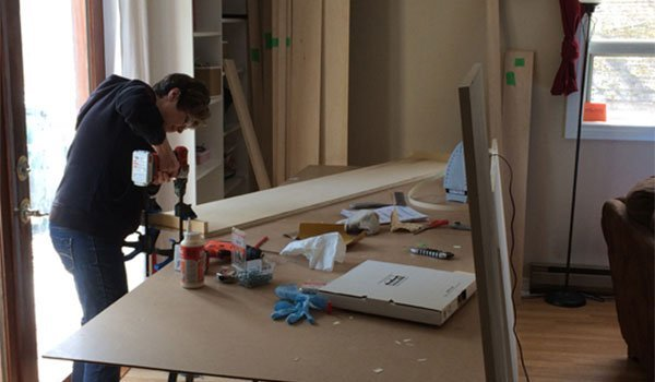 Easy DIY Murphy Bed Hardware Made in Canada
