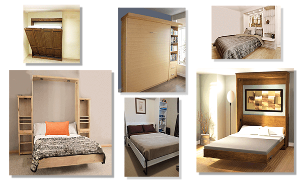 Murphy bed desk compatible with most brands