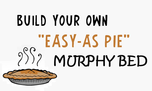 easy as pie murphy bed plans