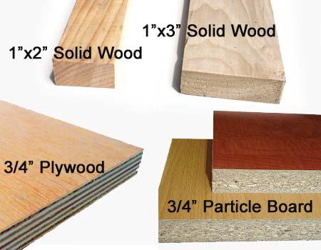 murphy bed wood materials